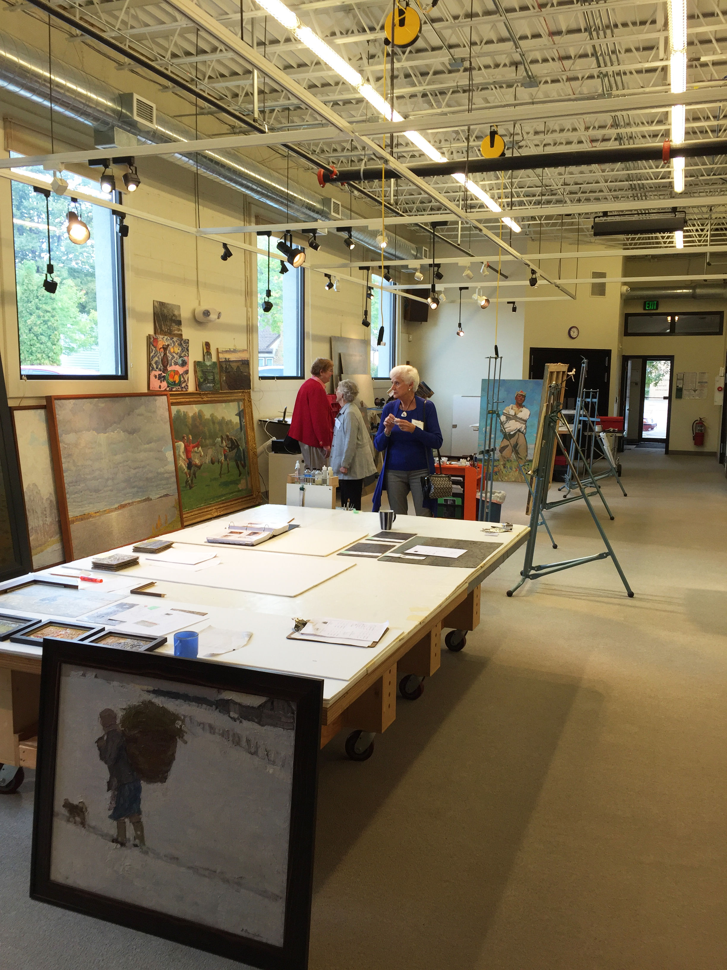 Art Conservation Tour 2016