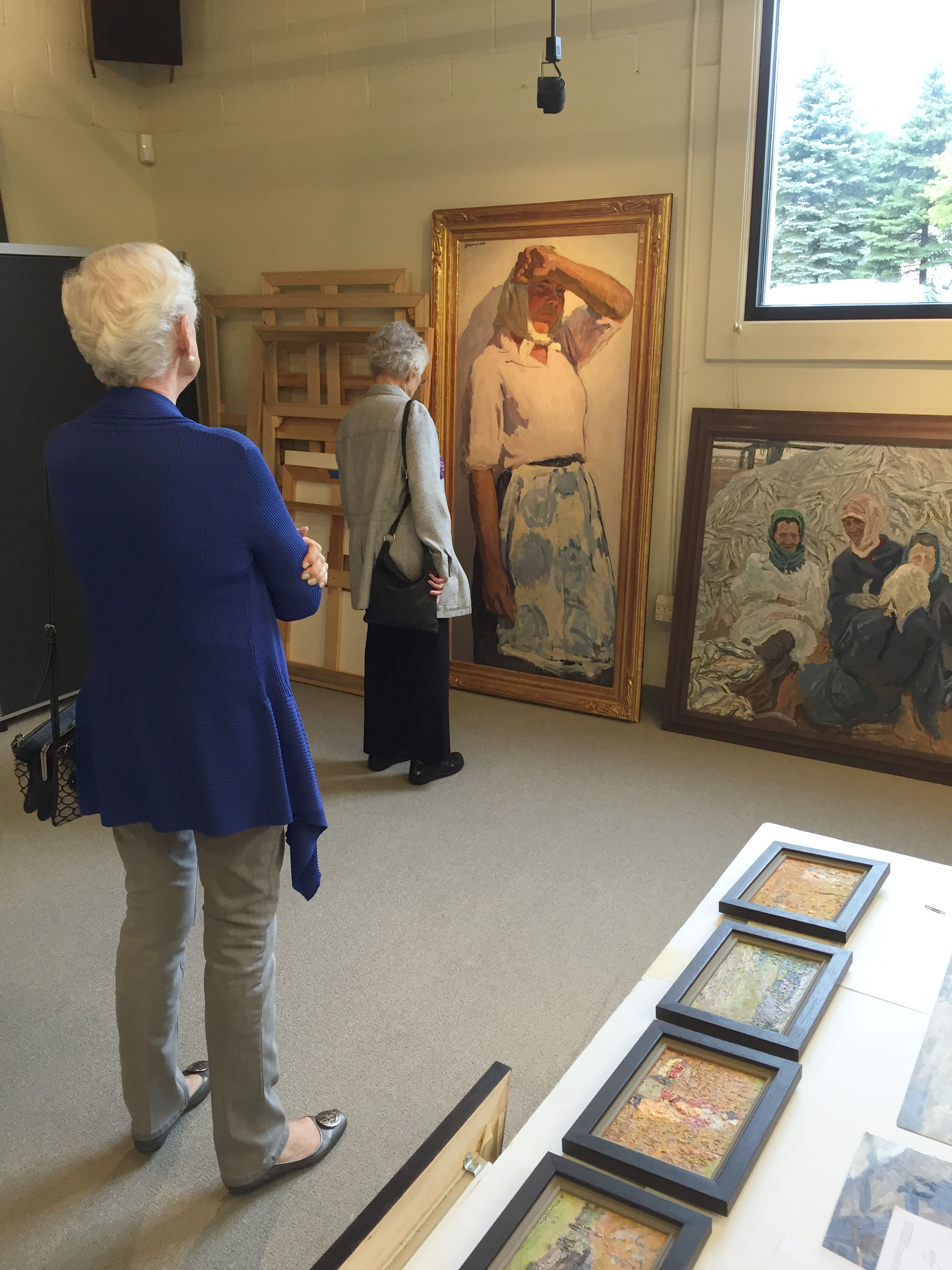 Tour of local Russian art collection 2016