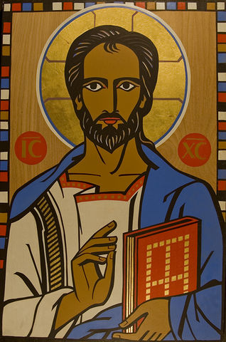 Icon of Christ the Teacher