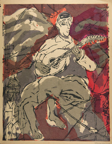 untitled [Man playing guitar]