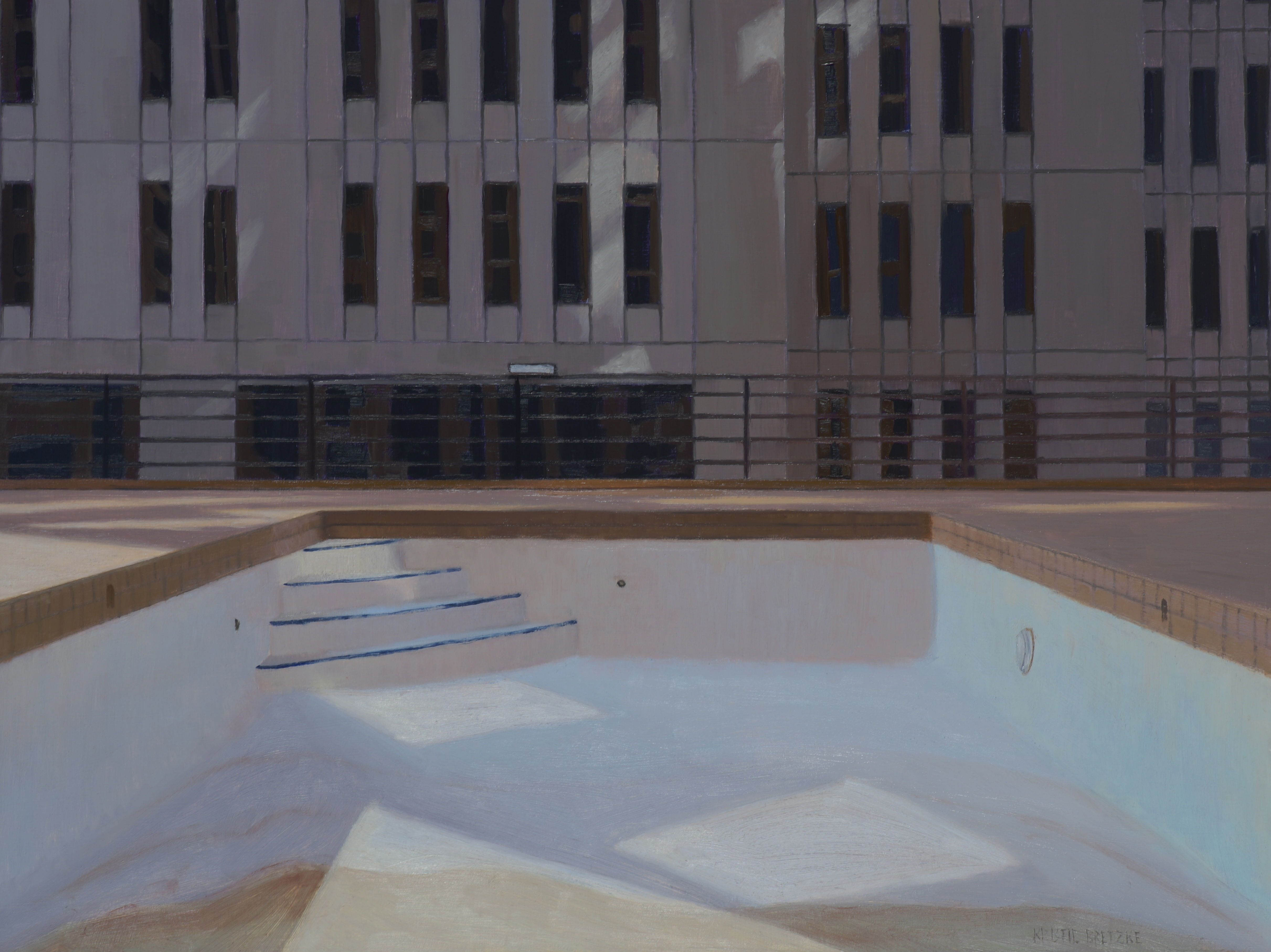 Poolscape 5 (Minneapolis Rooftop)